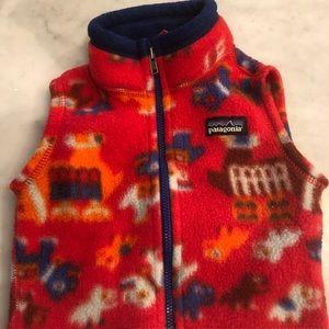 Patagonia Fleece Vest Baby size 6mo